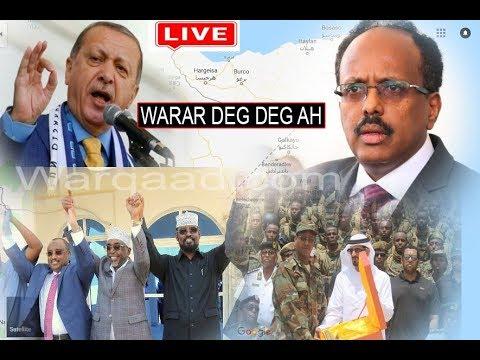 WARAR Deg Deg ah: Xiisadda DFS & Imaaraadka, Qorshaha Turkey & Masar & Warar kale