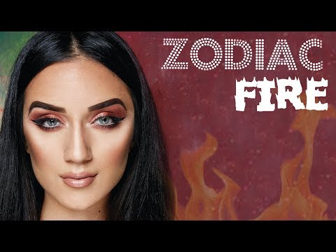 BH Cosmetics Zodiac Palette Makeup Tutorial: Fire Element Signs