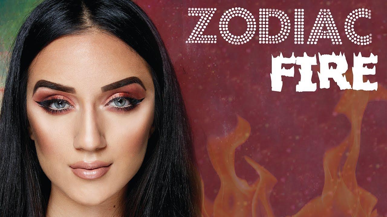BH Cosmetics Zodiac Palette Makeup Tutorial: Fire Element Signs