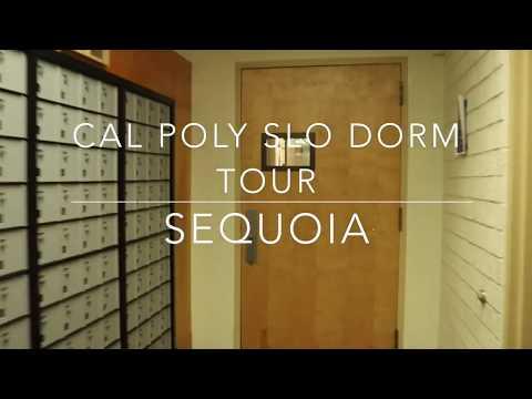 Cal Poly SLO Sequoia Red Brick Dorm Tour