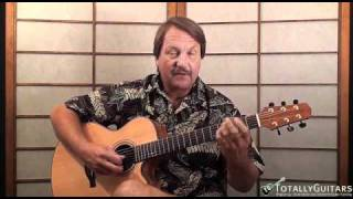 Son Of A Son Of A Sailor Acoustic Guitar Lesson - Jimmy Buffett