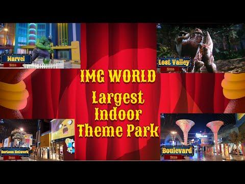Theme Park Trip | IMG World of Adventure Dubai UAE
