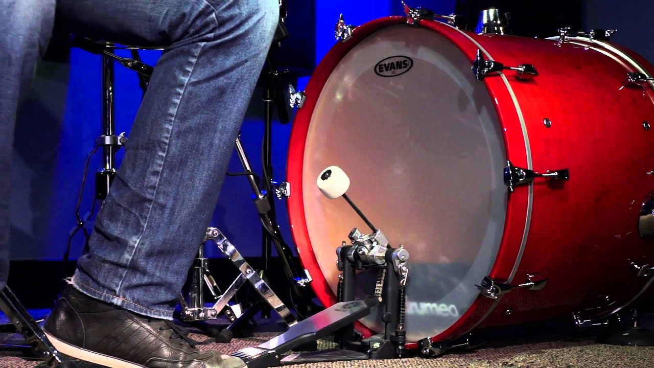evans eq4 frosted bass drum head review youtube. Black Bedroom Furniture Sets. Home Design Ideas