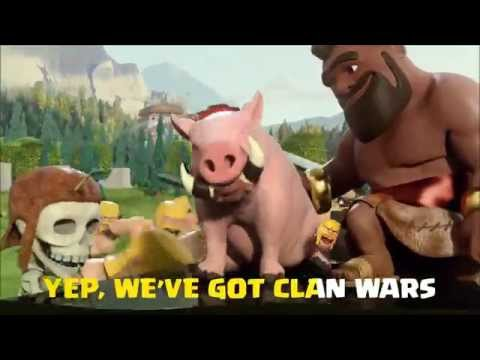 Clash of Clans Karaoke Entry!