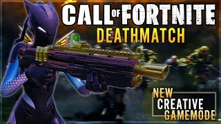 Call of Fortnite: Deathmatch (New FFA Game-Mode) | Fortnite: Creative (Map Code In Description)