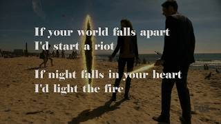 Cover images Banners - Start A Riot (Lyrics on Screen)