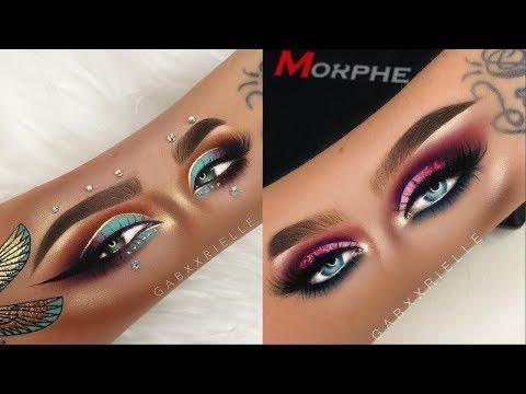 Gorgeous Eye Makeup On Your ARM ★ Best Eye Makeup Tutorial ★