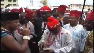 BRIGHT CHIMEZIE AT EZE IGBO LAGOS NEW YAM FEST PT3