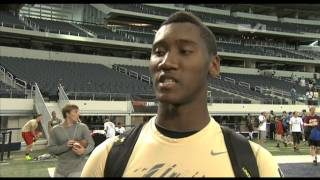 Chris Johnson - Bryan, Texas Quarterback Highlight / Interview - Sports Stars of Tomorrow