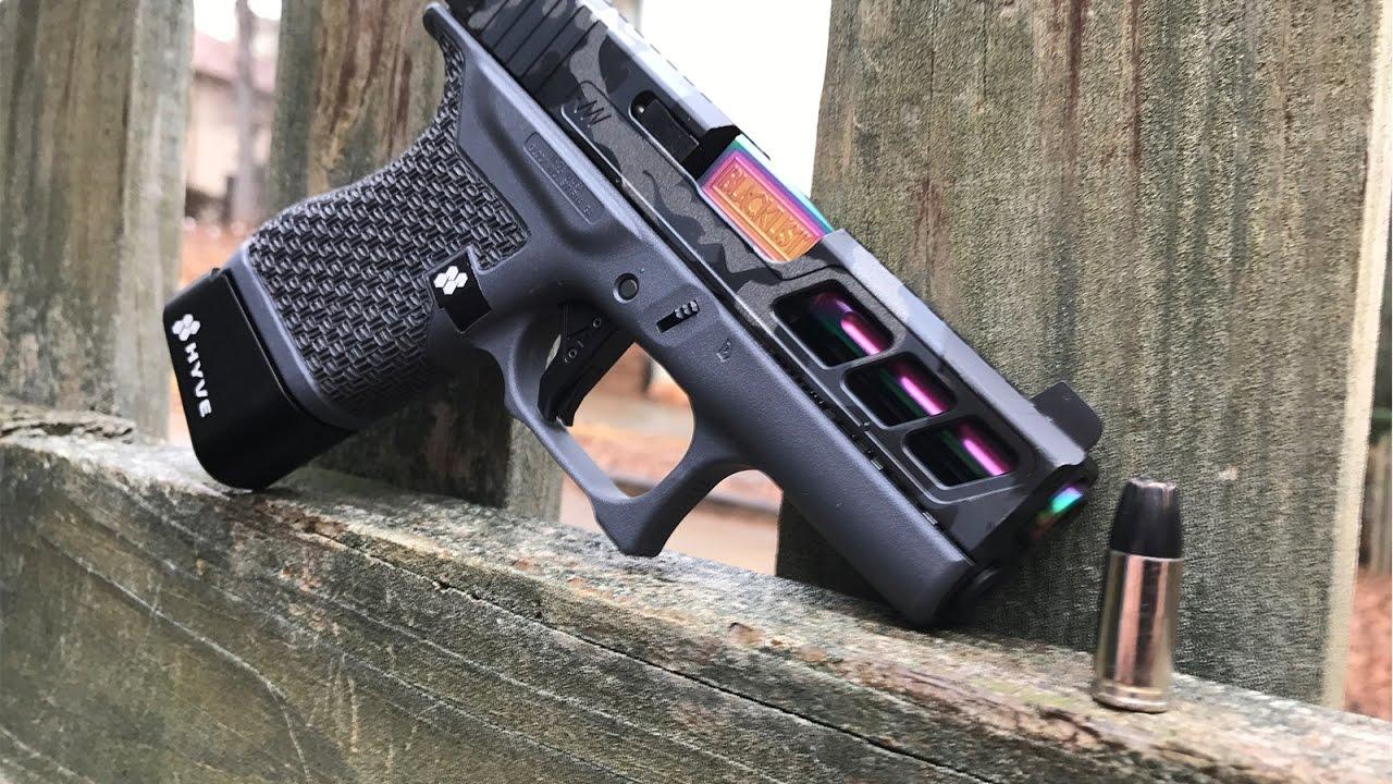 Custom Glock 43 - JAGERWERKS Slide Milling