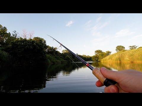 Kansas Strip Pit Fishing