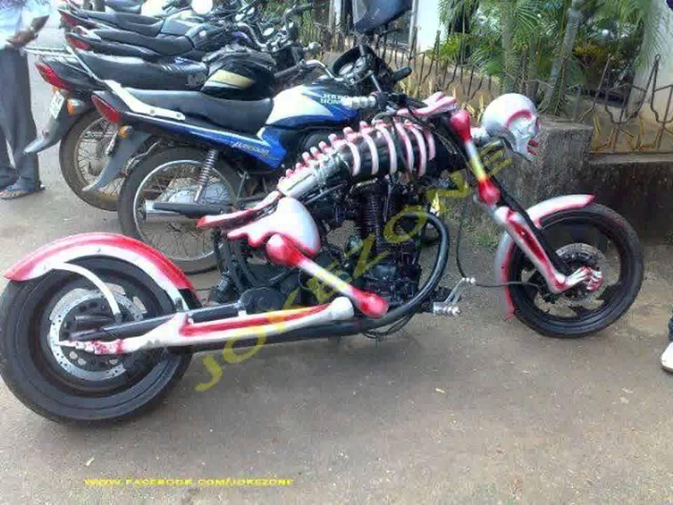 terbaru motor modifikasi antik