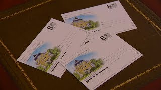 В Пензе отметили день рождения Михаила Лермонтова гашением почтовой карточки