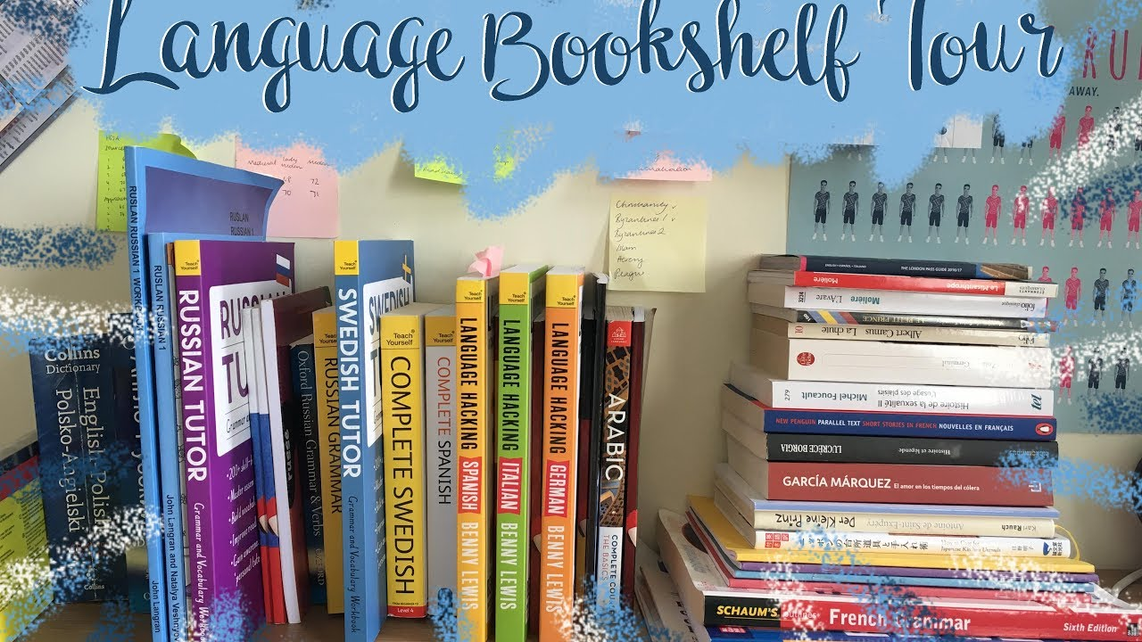 Language Bookshelf Tour