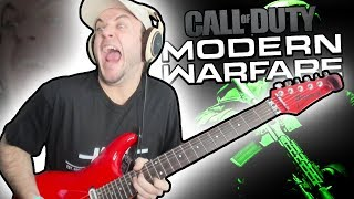 Playing Guitar on Modern Warfare...