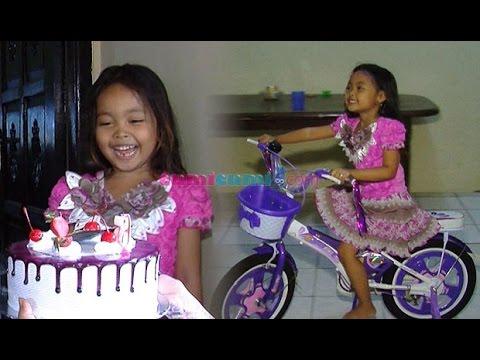 'Sepeda' Di Ultah Mischa Mancung - WasWas