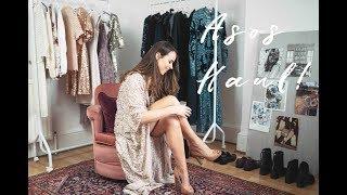 BIG ASOS HAUL & TRY ON | PARTY SEASON | Vlogmas Week Three | Laura Melhuish-Sprague