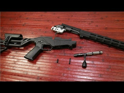 Ruger Precision Rimfire Detailed Disassembly