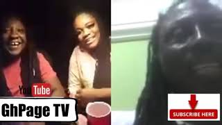 😲Kwaku Bonsam Supports 2 Ghanaian Lesbians In UK As He Join Them On Live Video