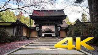 Kongobuji Temple - Wakayama - 金剛峯寺 - 4K Ultra HD