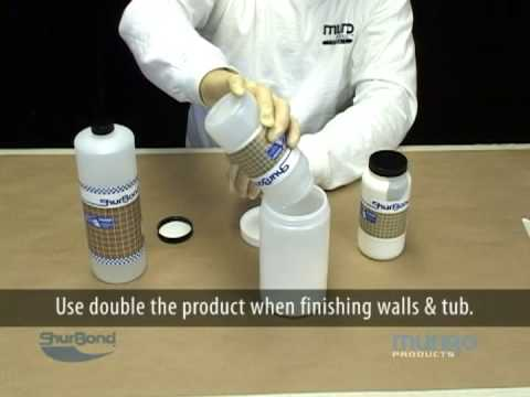 Fiberglass Tub & Shower Unit Refinishing - YouTube