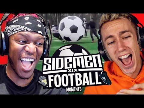 SIDEMEN REACT TO SIDEMEN FOOTBALL