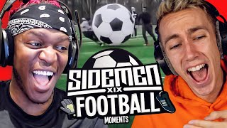 SIDEMEN REACT TO SIDEMEN FOOTBALL