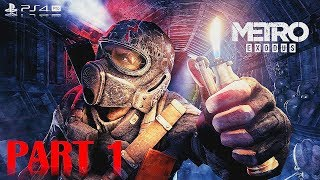 Metro Exodus - 100% Walkthrough No Commentary - Part 1 - Gameplay Playthrough