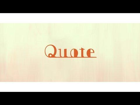 須田景凪「Quote」クロスフェード