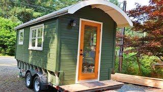 The Ledge-style Caravan Tiny House   Lovely Tiny House