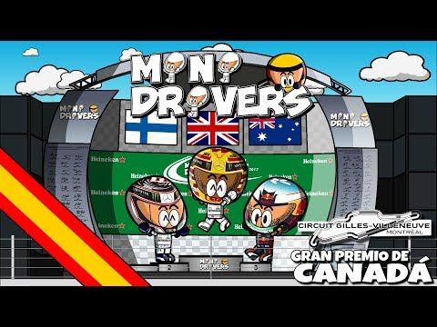 [ESPAÑOL] MiniDrivers - 9x07 - 2017 GP de Canadá