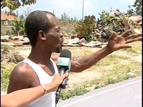 SHANTY TOWNS DEMOLISHED IN PRIDE ESTATES