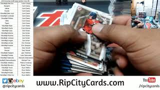 2018 Bowman Draft Super Jumbo Baseball 3 Box #8 RCC