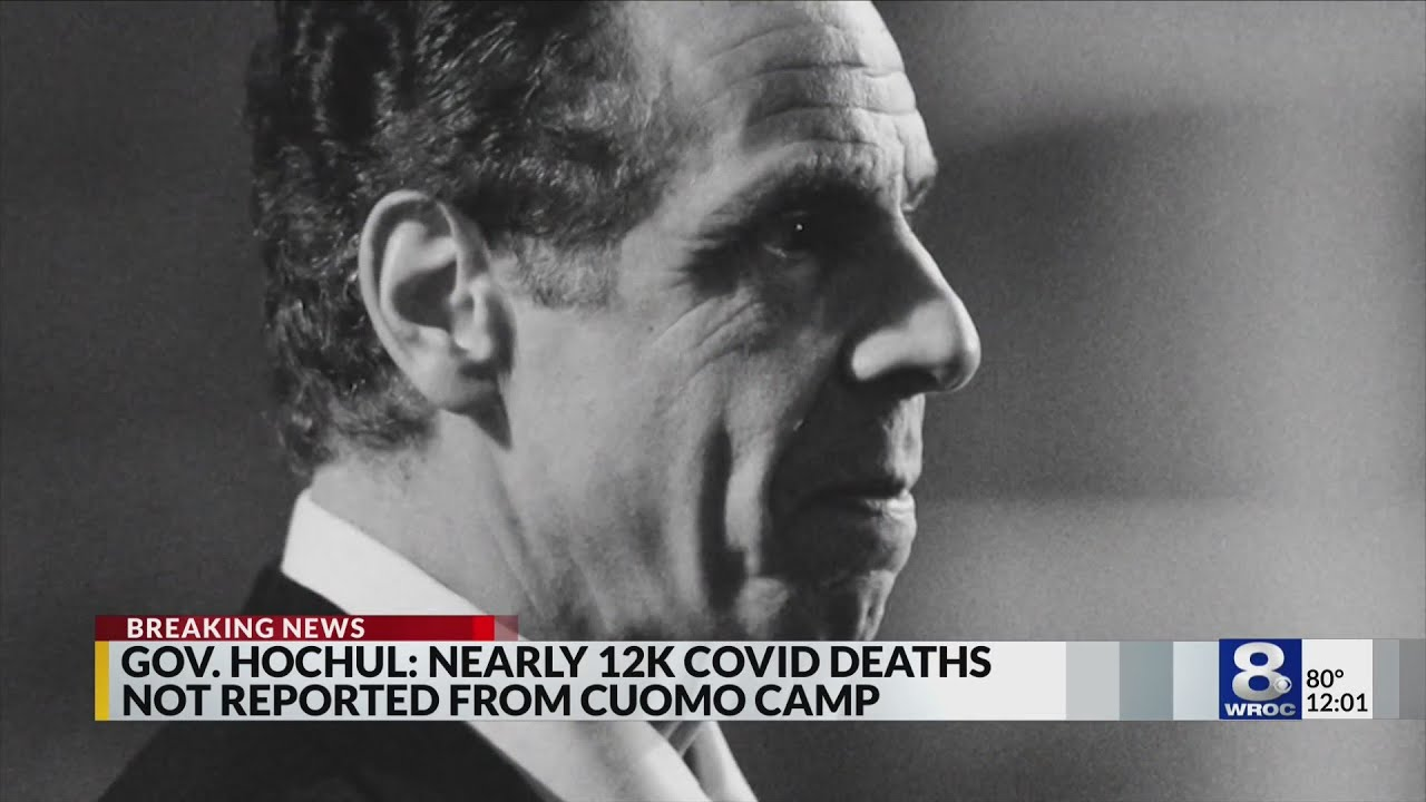 New NY Gov. Kathy Hochul adds 12000 deaths to publicized COVID ...