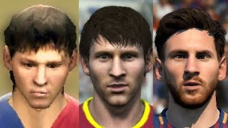 Lionel Messi evolution: FIFA 06 - FIFA 18