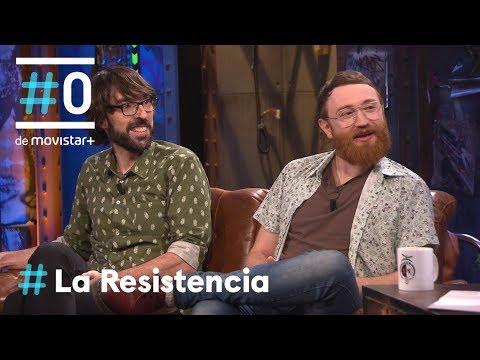 LA RESISTENCIA - Entrevista a Quique Peinado y Manuel Burque | #LaResistencia 10.04.2018