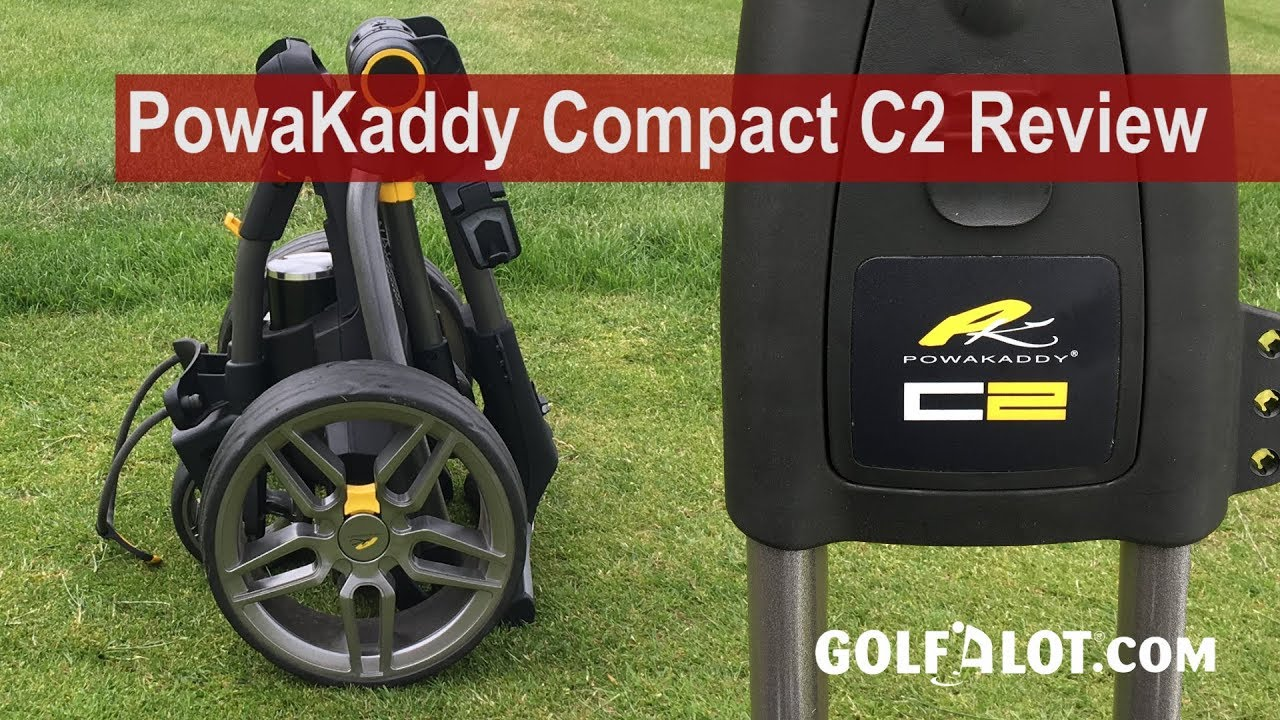 PowaKaddy Compact C2 Trolley Review By Golfalot