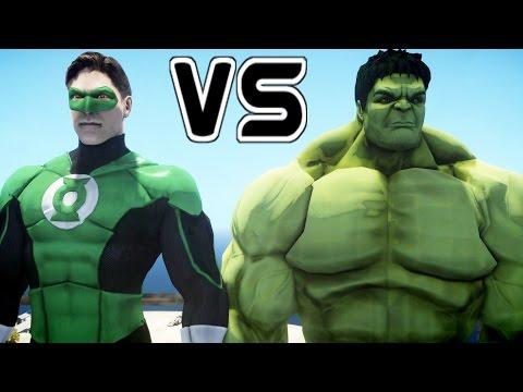 HULK VS GREEN LANTERN - EPIC BATTLE