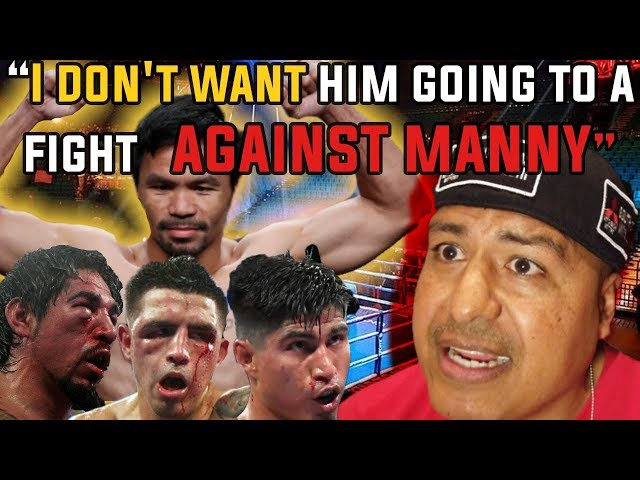 Robert Garcia wants to score a win over Manny Pacquiao!