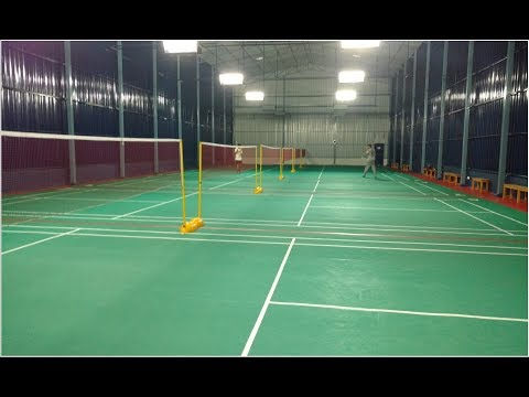 Indoor Sports Club Roofing Shed- Bangalore