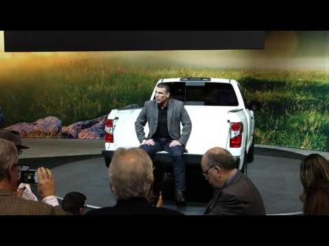 Nissan Tailgate Talk at the 2017 Chicago Auto Show