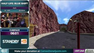 Half-Life Blue Shift by cubeface in 30 31 - AGDQ 2017 - Part 63