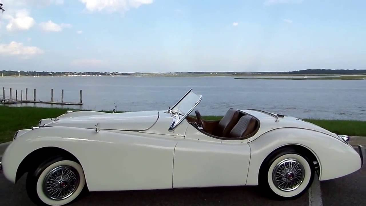 Charming 1953 JAGUAR XK 120 CONVERTIBLE REPLICA