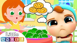 Download No No Snacks | Healthy Habits Kids Song & Nursery Rhymes by Little Angel Mp3 and Videos