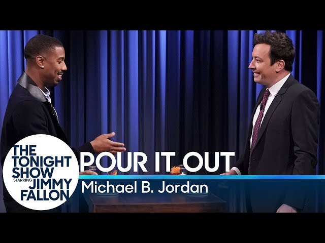 Pour It Out with Michael B. Jordan