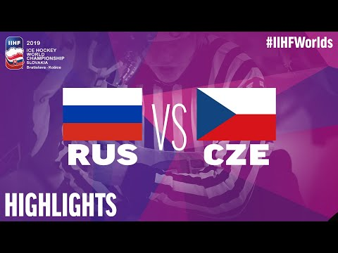 Russia Vs. Czech Republic - Bronze Medal Game - Game Highlights - #IIHFWorlds 2019