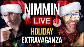 🎄 Hangout For YouTubers - Nimmin Live Holiday Extravaganza!