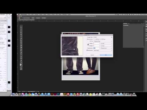 How to check photo resolution for print