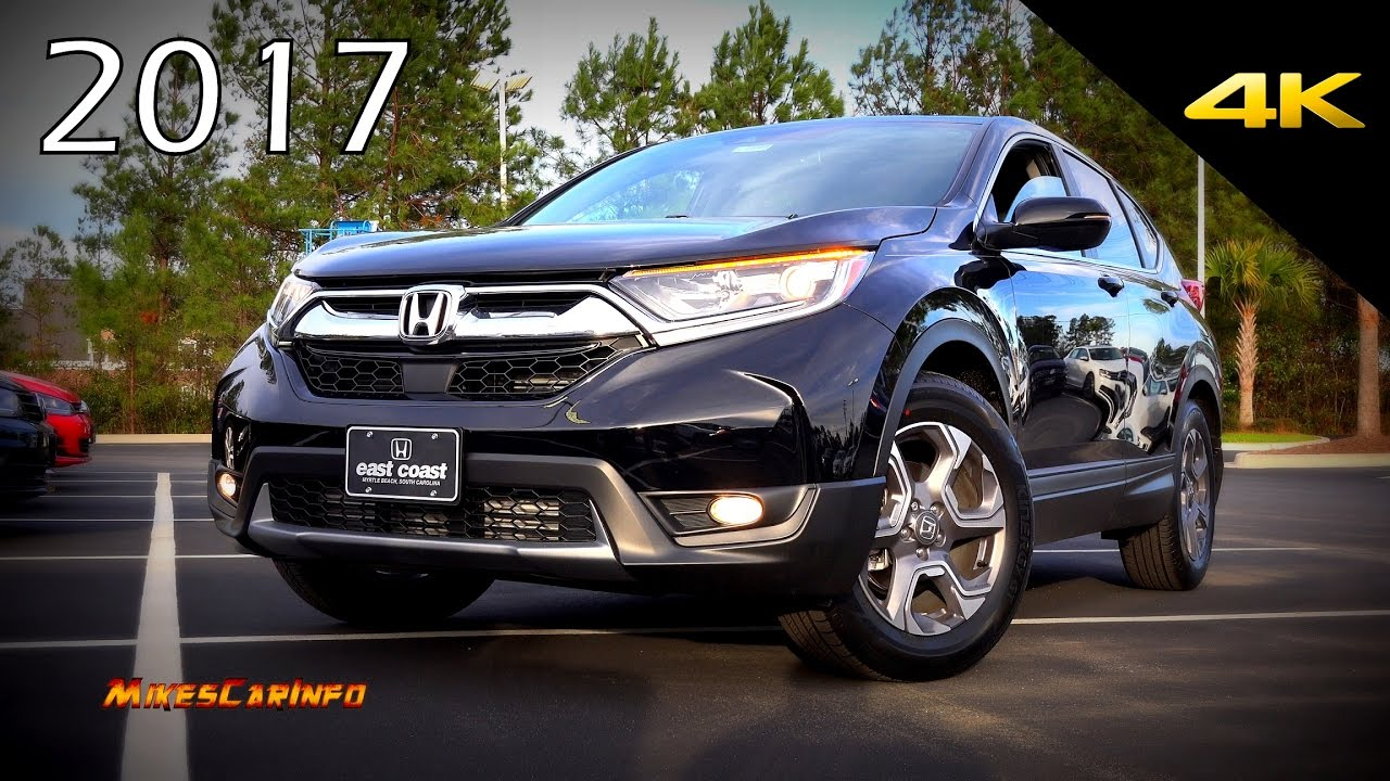 2017 Honda Cr V Ex L Detailed Look In 4k Youtube