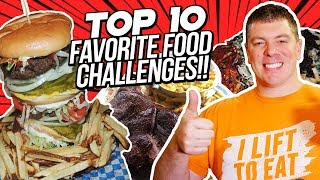 Top 10 Favorite Food Challenges in the World!!